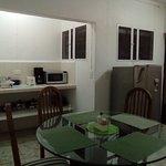 Apartamento 1: Sala-comedor