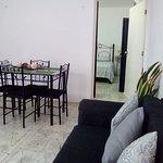 Apartamento 2: Sala-comedor
