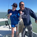 We killed it with capt Mark, I have been out with him a dozen times and he is the best on South Padre for Reds, Trout, and Black Drum this guy knows how to catch fish and he is a blast to be on the boat with!! Time well spent!!