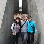 At the Genocide memorial, April 24, Yerevan. suzanguide@gmail.com