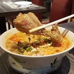 North Thai Coconut Curry with Chicken & Crispy Noodle