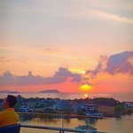 Perfect Sunset view at Marriot Hotel