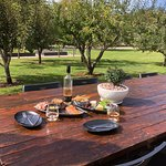 Tasmanian Produce Grazing Platters Cheese boards Lunch in the orchard
