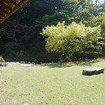 毛利邸内の庭園