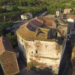 Façade Est du Château. Vue sur la citadelle bâtiment annexe au château relié a ce dernier par une passerelle.