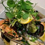 Fresh fish from Cornish shores, steaks, chicken and more......