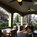 It IS front porch dining season once again! Soooooo excited!!