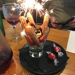 Our sparking dessert