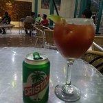 LA Preferida de Cuba, Cristal beer and good Michelada drink