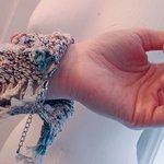 AMARA hand woven cuff.