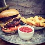 Bar food at the Crown Inn Elton