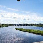 Fácil recorrido en bicicleta por la ruta de senderismo Koivusaari