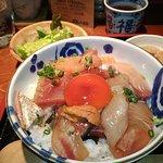 海鮮丼大盛り