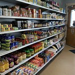 spices & seasonings on the shelves