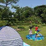 夏は幼児用プールもあります。