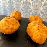 croquetas de jamon, melosas y de las mejores de Madrid
