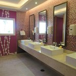Public bathroom in the Lobby area