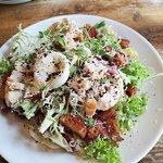 Lunchtime specials menu - chicken caesar salad