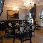 En av salarna i restaurang Ritz i Göteborg