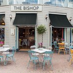 The Bishop Kingston a beautiful riverside pub serving up Young's bitter and classic British dish