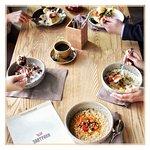 """Вкусные завтраки в """"Сказке"""" ежедневно с 8.00 до 12.00, а по выходным с 9.00 до 13.00.  До встречи в Сказке!"""