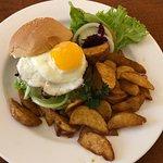 The Sun Beef Burger IDR90,750 nett