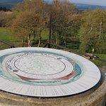 La table d'orientation du mont saint romain