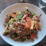 Main - Wok noodles with lots of proteins and veggies