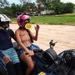 Aulinha com o prof Thiago, antes do passeio!  Coloquei emoji porque minha cara ficou cagada kkkkk