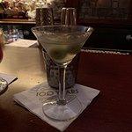 Dirty martini. STIRRED, not shaken, chuckle head!