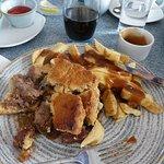 My steak pie - had loads of delicious steak in it.