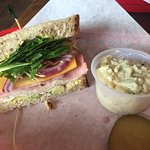 Delicious sandwiches and sides.