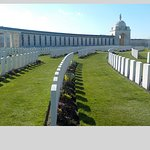 row after row of graves