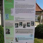 Eglise St-Joseph aux Breuleux (panneau d'informations à l'extérieur)