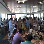 Con el mejor crew de la Concha!! Gracias Amnel, Haydee, Waleska, Juan, Isania y Josephine por hacer de esta boda una espectacular! El servicio, la comida, el servicio de barra y todas sus atenciones hacen de este momento inolvidable, uno memorable!!!