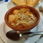 Sopa castellana. En el punto perfecto.