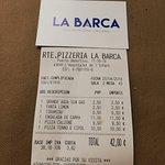 Bilde fra Restaurant Pizzeria La Barca