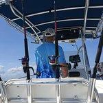 Captain Chuck Joe headed out to sea