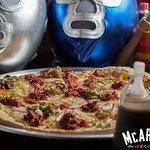 Pizza de Chilorio riquísima