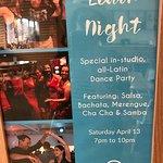 Latin night advertised