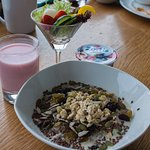 Grains, Yogurt & Salad