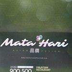 Mata Hari by Asian Fusion New Takeaway Menu (April 2019)