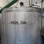 Mash tun - where the wort is extracted