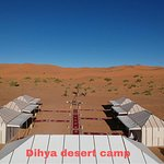 Dihya Desert Camp from above!