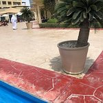 """FILTHY FILTHY FILTHY POOLS AND TERRIBLE GROUNDS UPKEEP / MAINTENANCE AT """"GRAND"""" HYATT DOHA."""