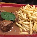 Repas sympa au restaurant le Sud à Prats de Mollo