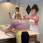 Katy explores pasta making with Julia