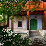 Right near our meeting point in front of the Hammam Museum is the beautiful Hadzi-Kurt Mosque. We just love that lapis-lazuli blue that frames the doorway!
