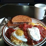 One of our signature brekkie.. Huevos Five Corners