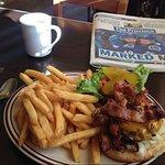 Mushroom Bacon Cheeseburger.. you know you wannnnnt it!